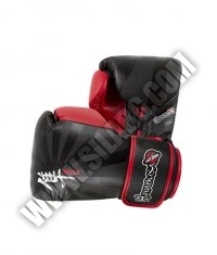 HAYABUSA FIGHTWEAR Ikusa 14oz Gloves / Black / Red