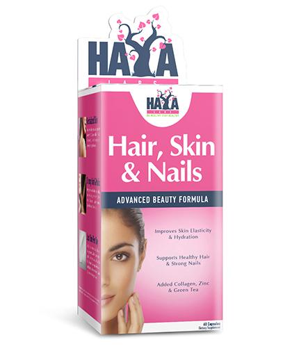 HAYA LABS Hair, Skin and Nails / 60 Caps.