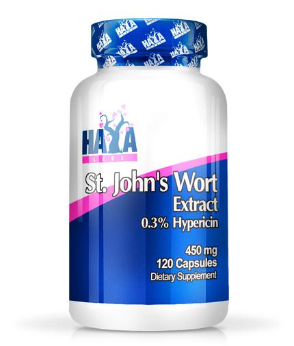 HAYA LABS St. John's Wort 450mg / 120 tabs