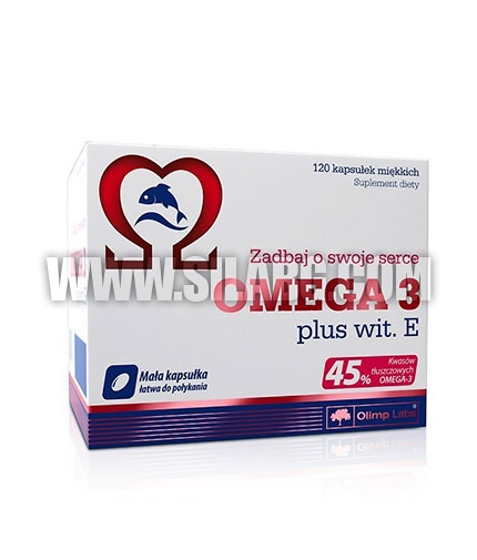 OLIMP Omega 3 plus Vitamin E 500mg. / 120 Caps.