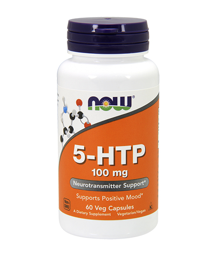 NOW 5-HTP 100mg. / 60 Vcaps.