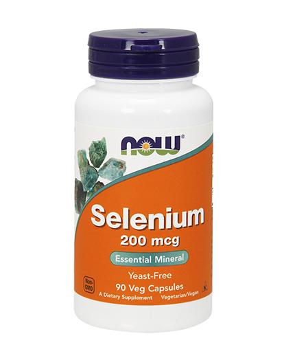 NOW Selenium /Yeast Free/ 200mcg. / 90 Vcaps.