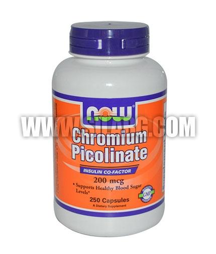 NOW Chromium Picolinate 200mcg. / 250 Caps.
