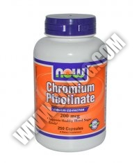NOW Chromium Picolinate 200mcg. / 250 Caps.