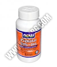 NOW Prenatal Gels + DHA 90 Softgels