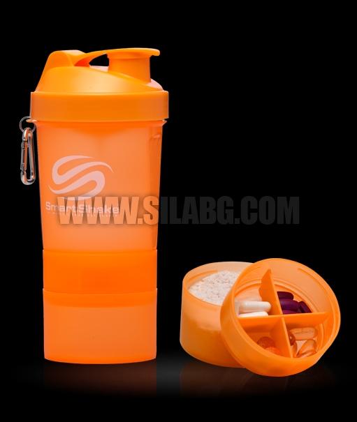 SMART SHAKE Neon Orange 600ml