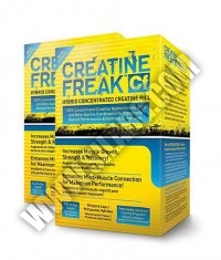 PROMO STACK Pharma Freak Creatine Freak 90 Caps. / x2