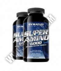 PROMO STACK DYMATIZE Super Amino 6000 / 500 Caps. / x2
