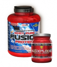 PROMO STACK BSN NO-Xplode 2.0 / 50 Serv. / Amix Whey Pure Fusion 5 Lbs.