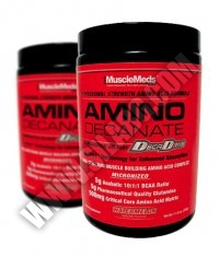 PROMO STACK Musclemeds Amino Decanate 333g. / x2