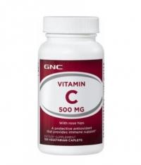 GNC Vitamin C 500mg / 100 Caplets