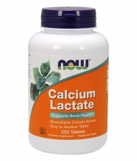 NOW Calcium Lactate 10 Grain / 650mg / 250 Tabs.