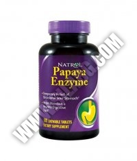 NATROL Papaya Enzyme 100 Chew Tabs.
