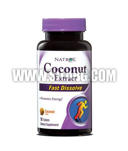 NATROL Coconut Extract /Fast Disolve/ 90 Tabs.
