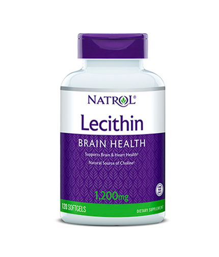 NATROL Soya Lecithin 1200mg / 120 Softgels