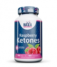 HAYA LABS Raspberry Ketones 500mg / 100 Caps.
