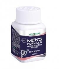 VEMOHERB Men's Formula 30 Caps.