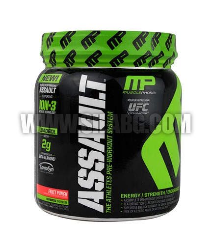 MUSCLE PHARM Assault 30 Serv. /NEW/