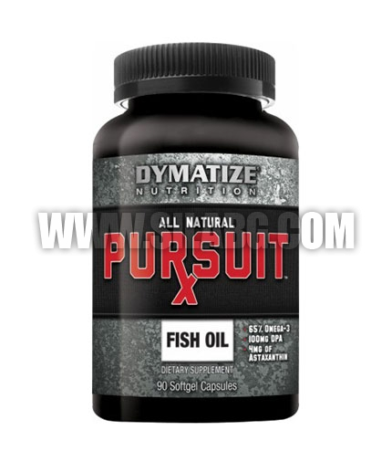 DYMATIZE Pursuit Rx Fish Oil 90 Caps.