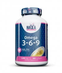 HAYA LABS Omega 3-6-9 / 100 Softgels