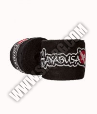 HAYABUSA FIGHTWEAR Perfect Stretch Hand Wraps /Black/