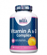 HAYA LABS Vitamin A & D Complex / 100 Soft