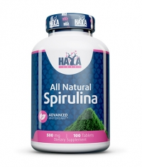 HAYA LABS All Natural Spirulina 500mg. / 100 Tabs.