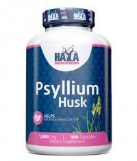 HAYA LABS Psyllium Husk 1000mg. / 100 Caps.