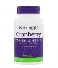 NATROL Cranberry 800mg. / 30 Caps.
