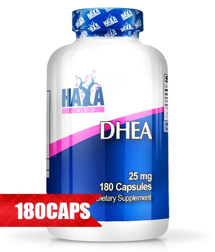 HAYA LABS DHEA 25mg. / 180 Caps.