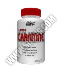 NUTREX Lipo 6 Carnitine 120 Caps.