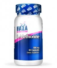 HAYA LABS L-Methionine 500mg  / 60 Caps.