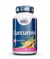 HAYA LABS Curcumin /Turmeric Extract/ 500mg / 60 Caps.