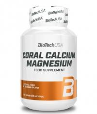 BIOTECH USA Coral Calcium Magnesium 100 Tabs.