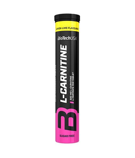 BIOTECH USA Effervescent L-Carnitine 500mg / 20 Tabs.