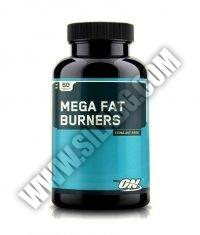 OPTIMUM NUTRITION Mega Fat Burners 60 Tabs.