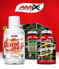 PROMO STACK Amix Detonatrol / Amix CarniLean / Amix Lipotropic Fat Burner