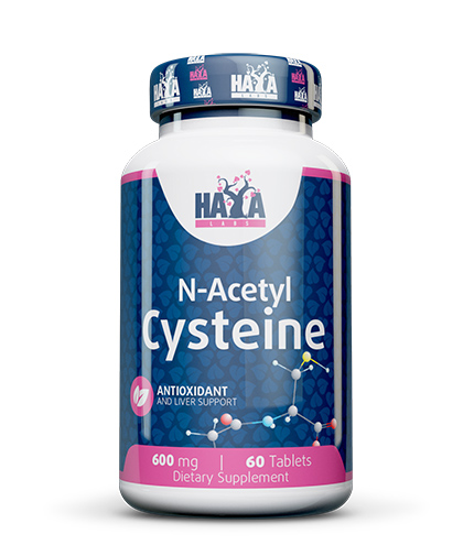 HAYA LABS N-Acetyl L-Cysteine 60 Tabs.
