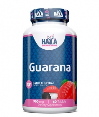 HAYA LABS Guarana 900mg / 60 Tabs.