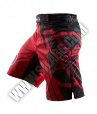HAYABUSA FIGHTWEAR Chikara Recast Performance Shorts /Red/