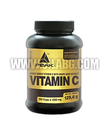 PEAK Vitamin C 120 Caps.