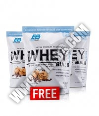 PROMO STACK Everbuild Whey Build 5 Lbs. BUY 2 GET 1 FREE