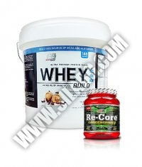 PROMO STACK Everbuild Whey Build 10 Lbs. / AMIX Re-Core Concentrated 540g.