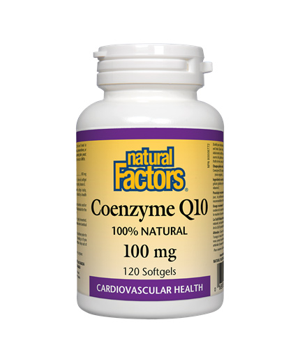 NATURAL FACTORS Coenzyme Q10 100mg / 60soft.
