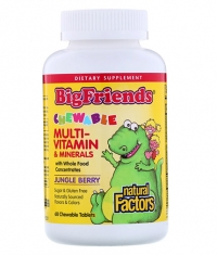 NATURAL FACTORS Children's Chewable Multivitamin / 60tabs