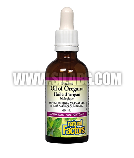 NATURAL FACTORS Oil of Oregano / 60ml.