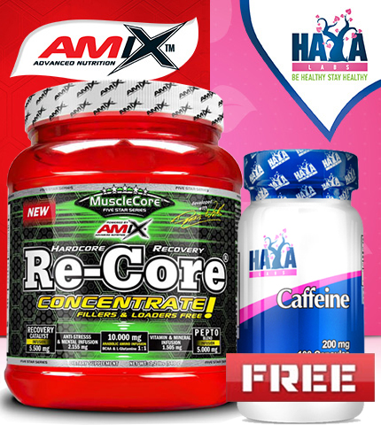PROMO STACK AMIX Re-core Concetrated  540g / HAYA Caffeine FREE