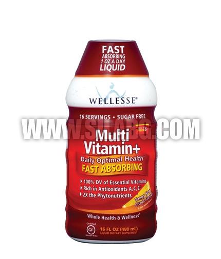 WELLESSE MultiVitamin + Liquid