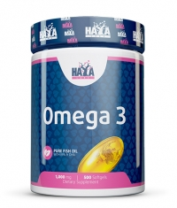 HAYA LABS Omega 3 1000mg. / 500 Softgels