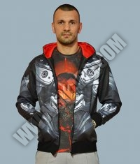 AMERFOOT IRON MAN HOODY